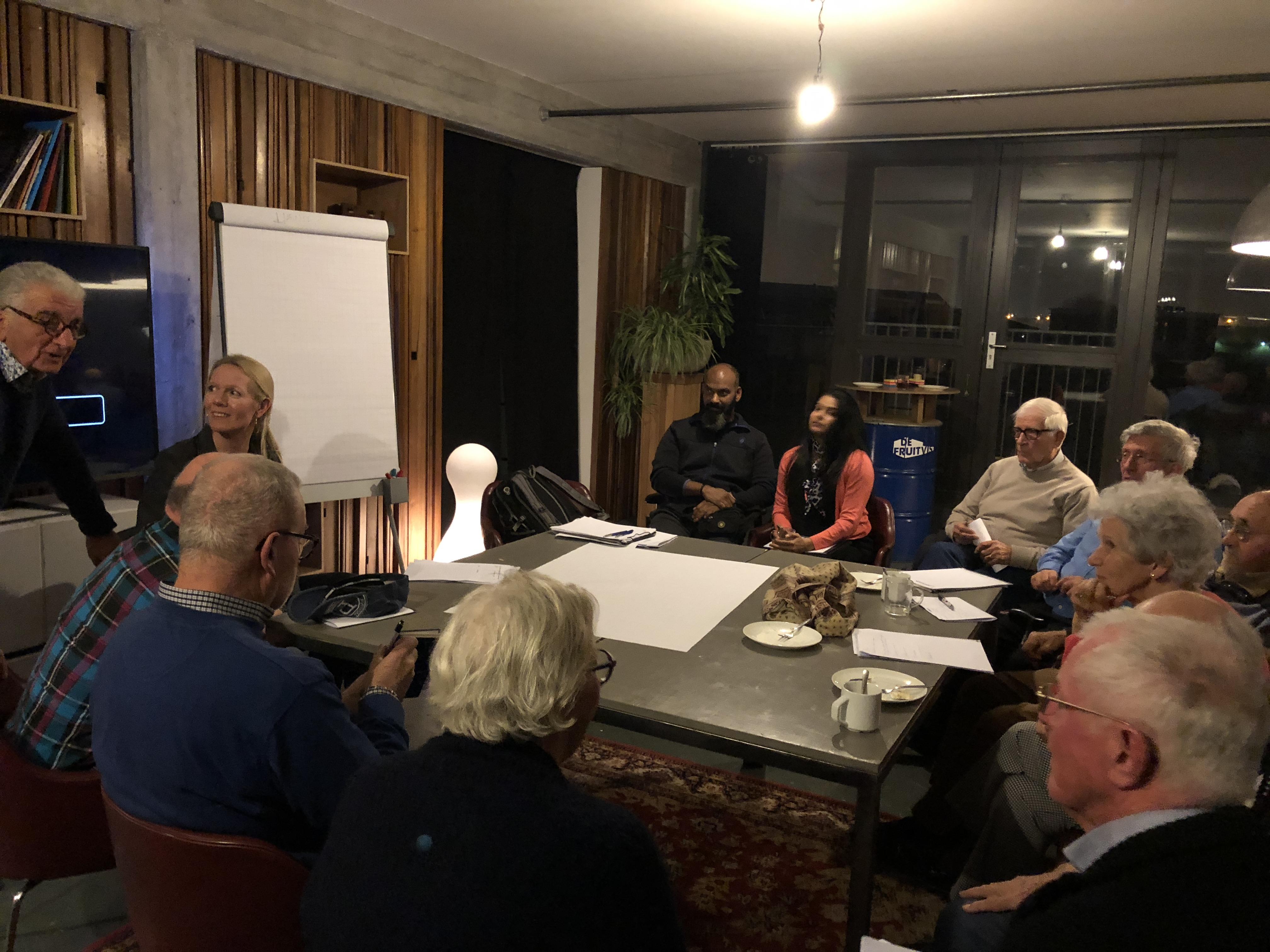 Bijeenkomst bewonerscommissie & bewonderscontactgroepen